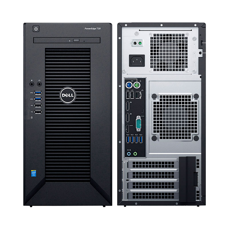 سرور Dell T30 - سرور دل - PowerEdge T30 - Tower Server - Dell Server - سرور