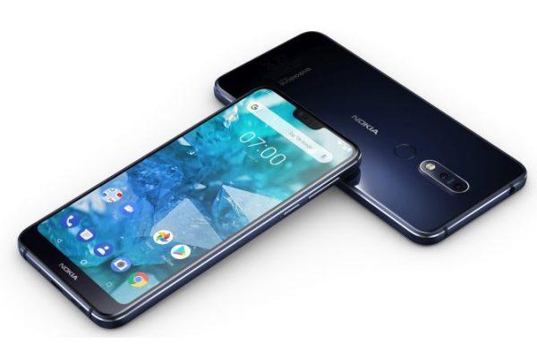 نوکیا - Nokia - Nokia 7.1+ - نوکیا 7.1+ - FCC - تأییدیه FCC - نوکیا 7.1 پلاس
