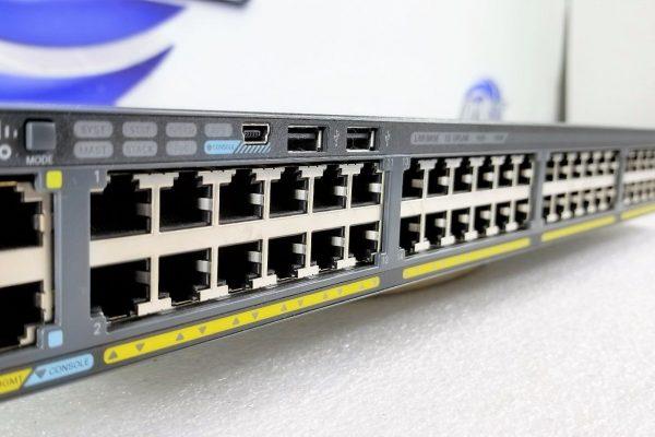سوییچ - Cisco - سیسکو - WS-C2960X-48FPS-L