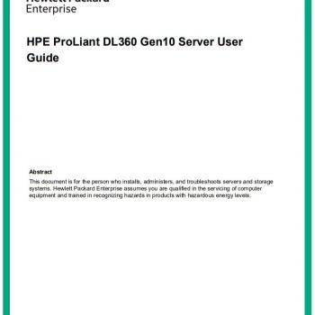 سرور اچ پی - سرور - HPE Proliant - DL360 Gen10