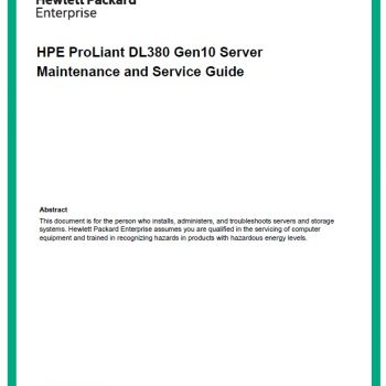 سرور اچ پی - سرور - HPE Proliant - DL380 G10