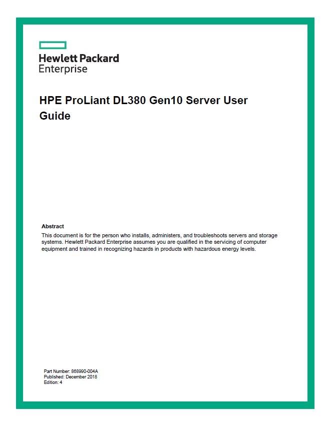 سرور اچ پی - DL380 - HPE ProLiant - HPE ProLiant DL380 Gen10 - DL380 Gen10