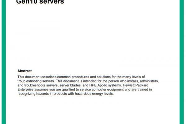 HPE ProLiant GEN10 - سرور - اچ پی
