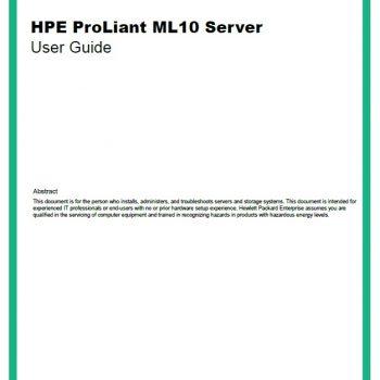 سرور اچ پی - سرور - ML10 - HPE Proliant