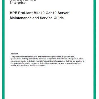 سرور اچ پی - سرور - HPE Proliant - ML110 Gen9