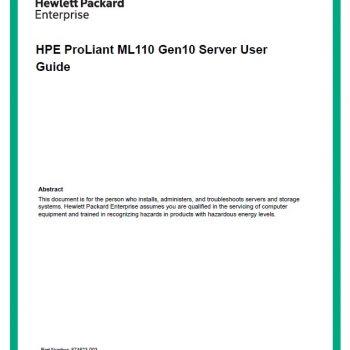 ML110 Gen10 - HPE Proliant - سرور - سرور اچ پی
