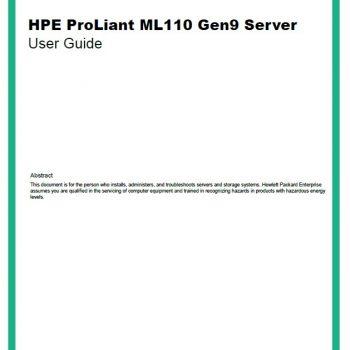 ML110 Gen9 - HPE Proliant - سرور - سرور اچ پی
