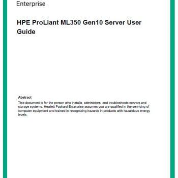ML350 Gen9 - HPE Proliant - سرور - سرور اچ پی