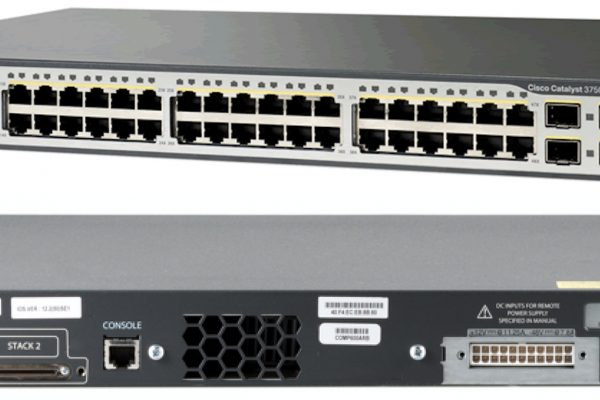 سوییچ - Cisco - سیسکو - WS-C3750V2-48PS-S
