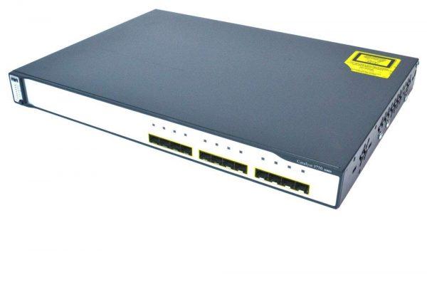 سوییچ - Cisco - سیسکو - WS-C3750G-12S-S