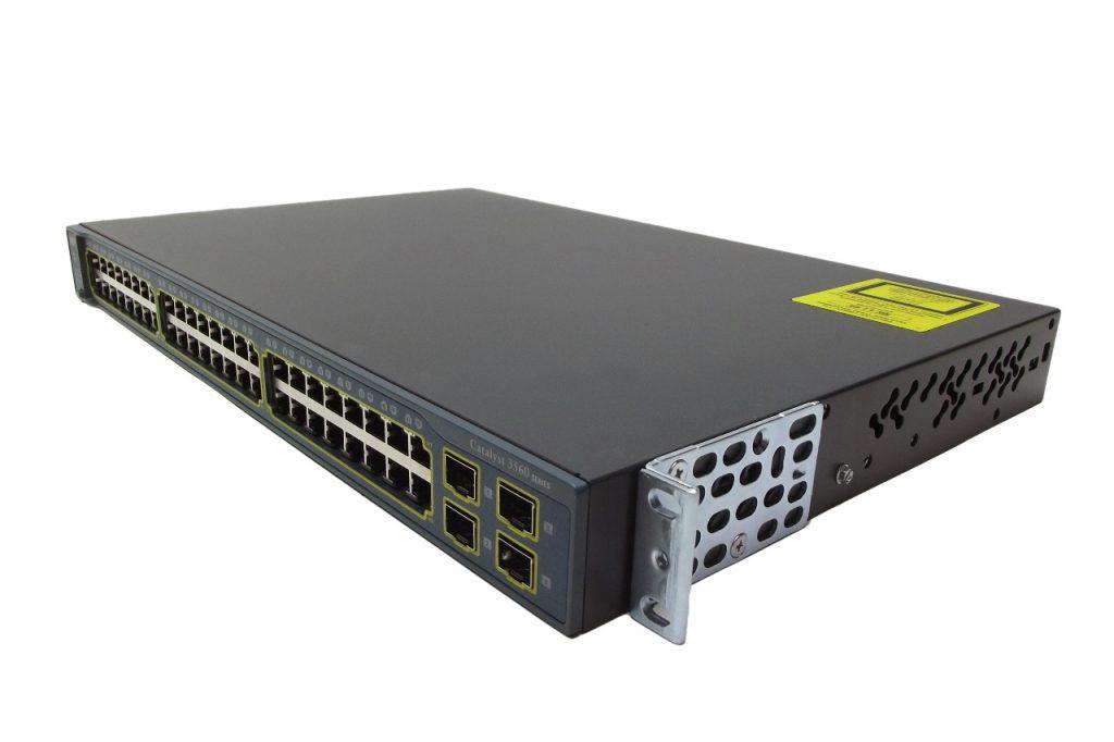 سوییچ - Cisco - سیسکو - WS-C3560-48TS-S