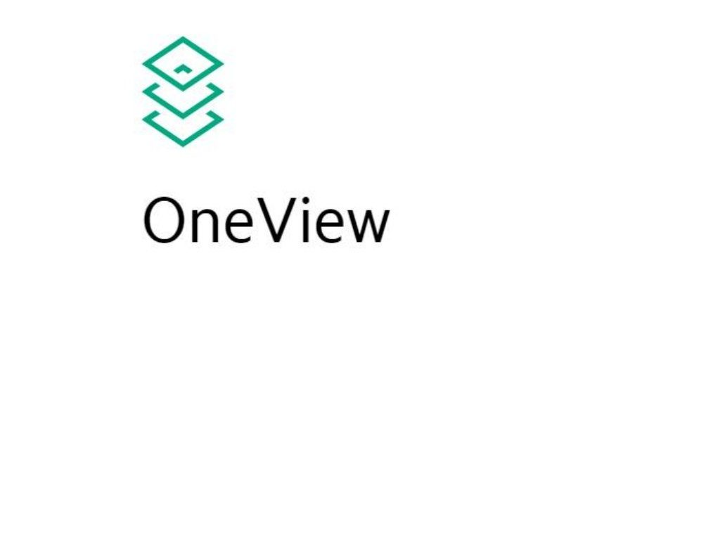 OneView - HPE - اچ پی